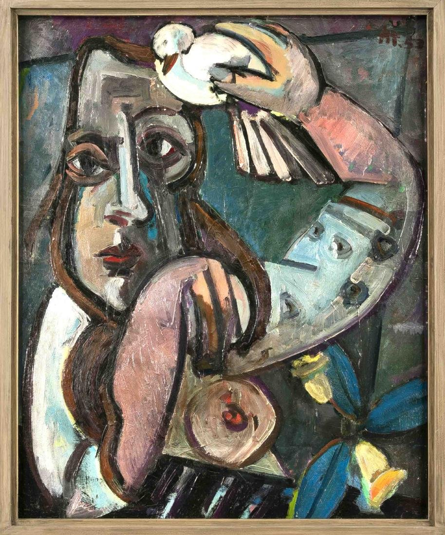 Herbert Helmert (1924-1997), dt. Expressionist aus