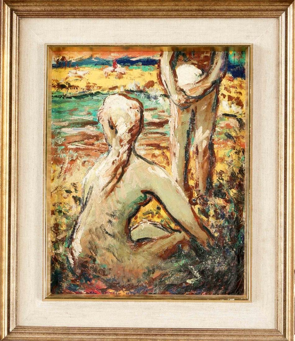 Lotte Lesehr-Schneider (1908-2003), German painter, b.