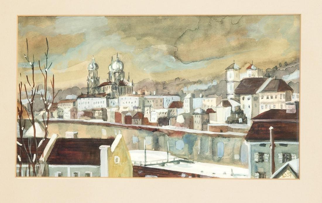 Herbert Strabel (1927-2017), German painter, stage