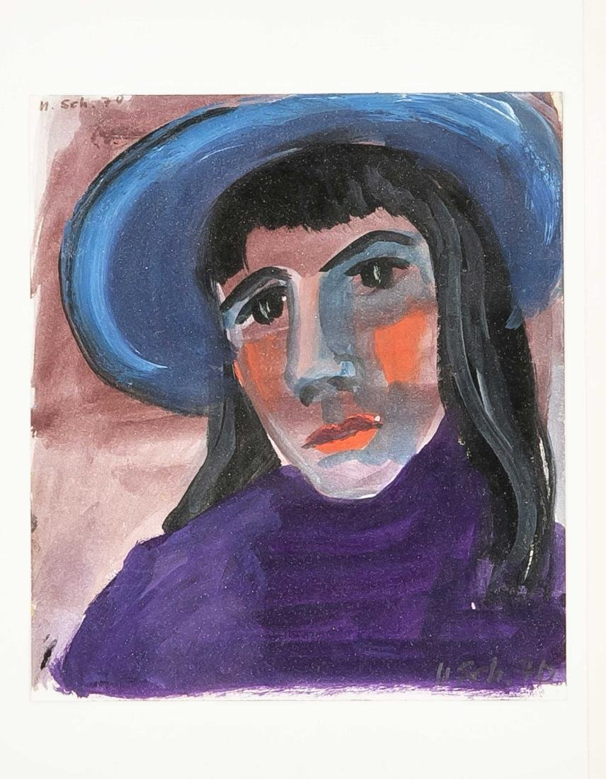 Ursula Schumacher (1925-2012), dt. Malerin, besuchte - 3