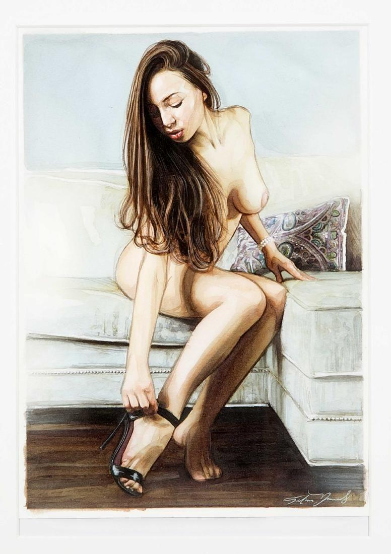 Erotika, 21st century contemporary artist, female nude