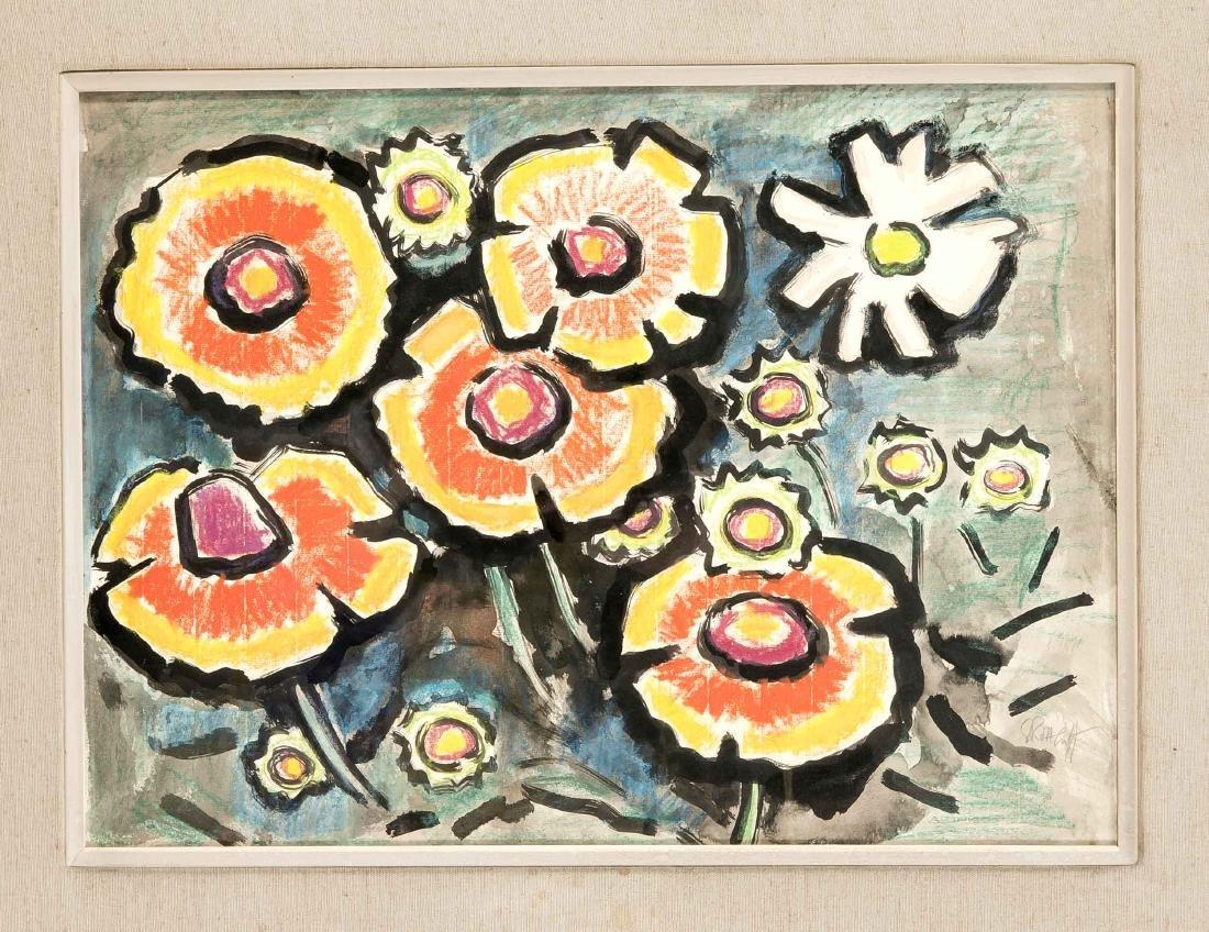 Karl Schmidt-Rottluff (1884-1976), flower piece,