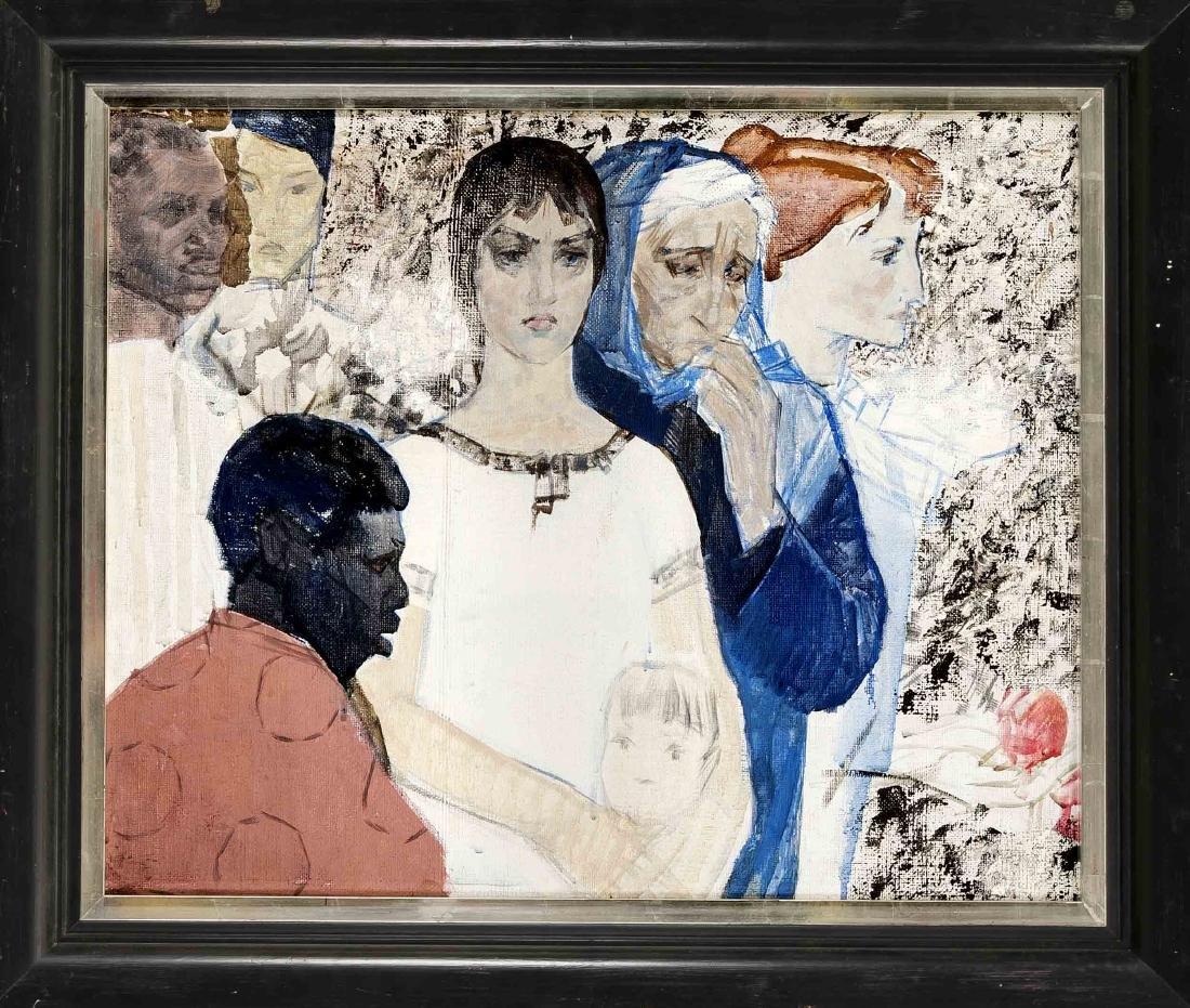 Ilja Glazunov (* 1930), contemporary Russian artist, b.