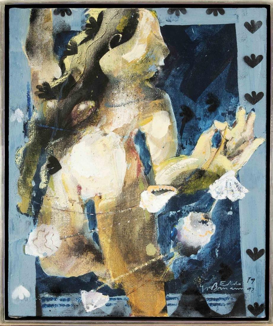 Edda Grossmann (* 1958), dt, painter, studied with Karl