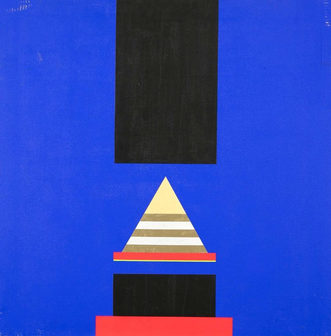 Joe Walser (1932-2011), swiss artist of the ''hard