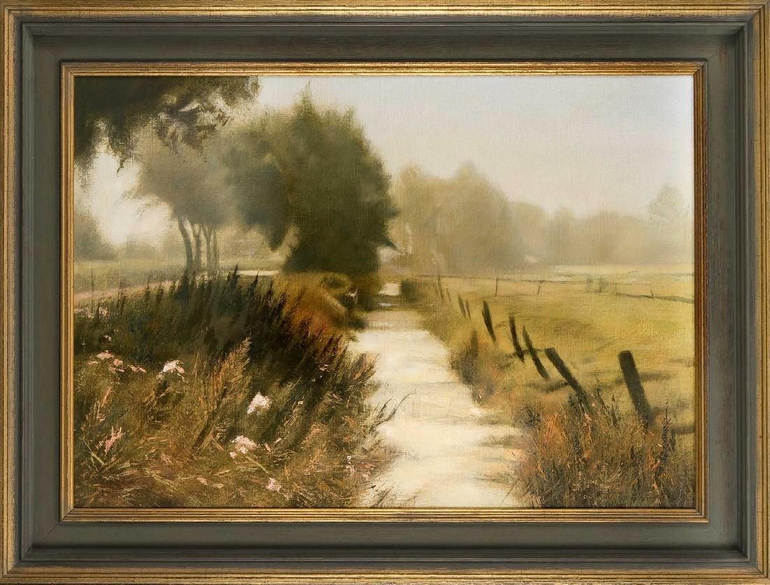 Peter van Beeck (1950-1999), Worpsweder Landschaft,
