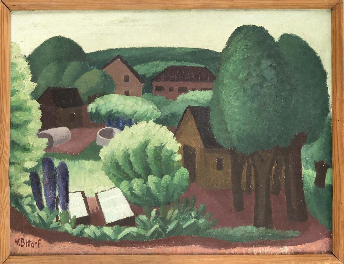 Wilhelm Bittorf (1904-1951), painter from Offenbach,