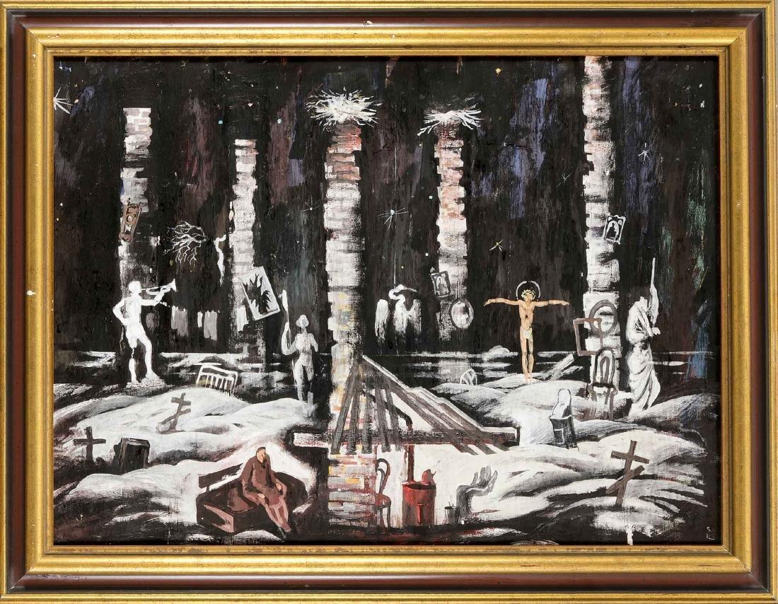 Sergei Bocharov (* 1953), Russian painter, scenographer