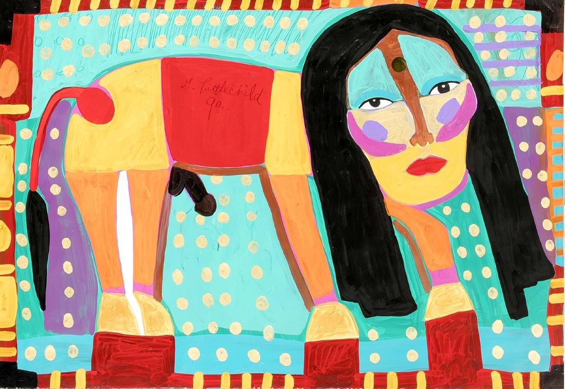 George Littlechild (*1958), zeitgenössischer Künstler