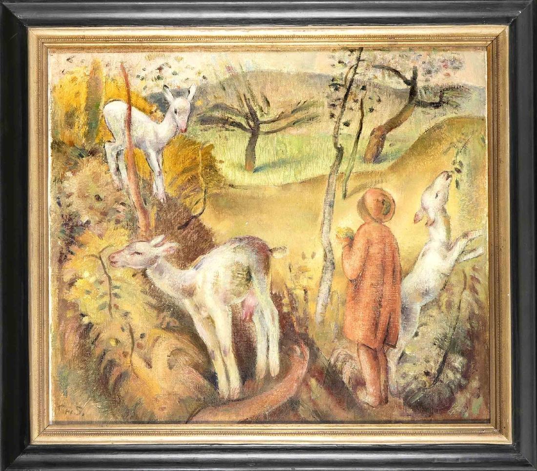 Franz Heinrich Gref (1872-1957), German painter from