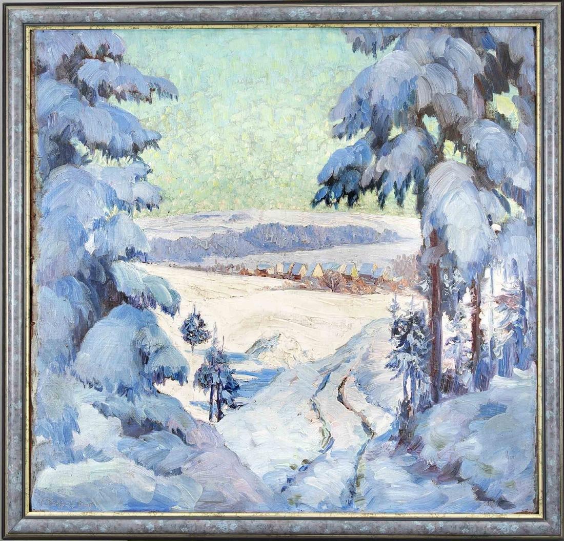 Heinrich Hoffritz, Münchner Maler um 1930, große,