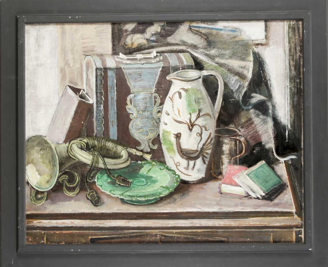 Kurt Haase-Jastrow (1885-1958), großes Stillleben mit