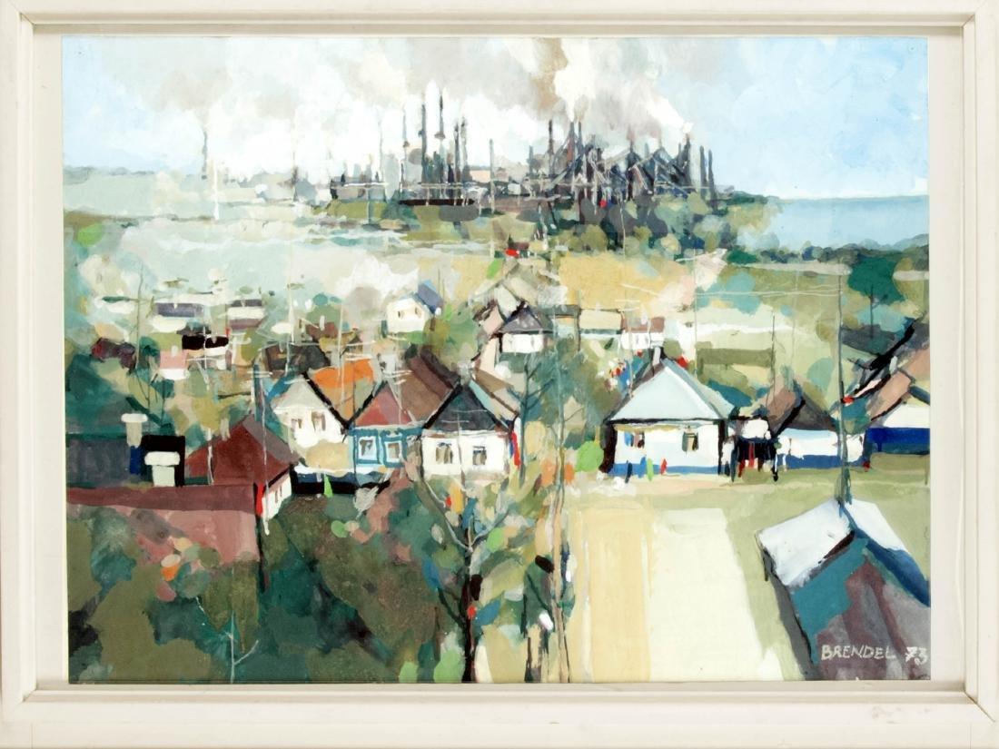 Günther Brendel (*1930), dt. Maler und Grafiker,