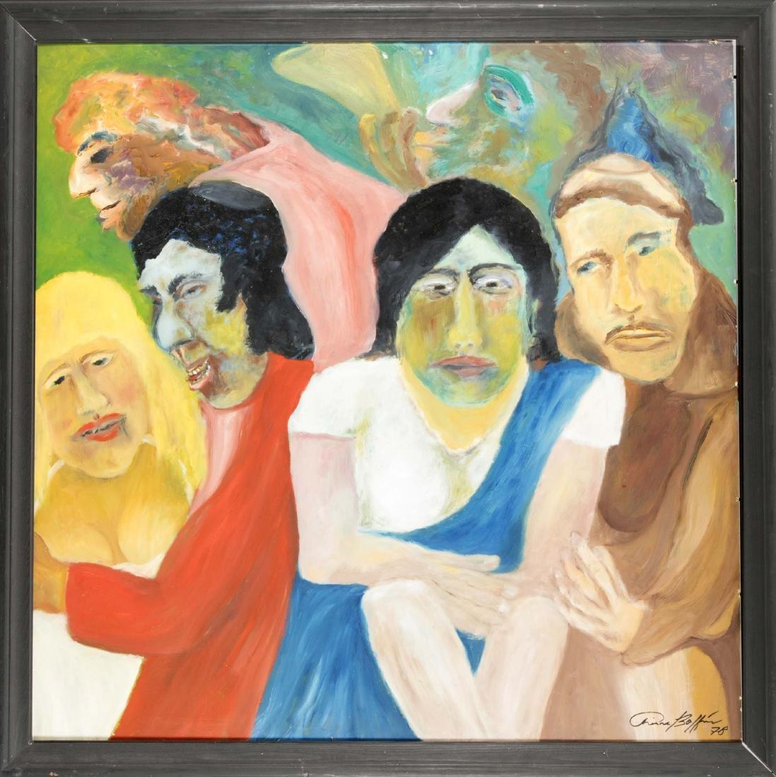 Pierre Boffin (1907-1991), German Artist from Aachen,