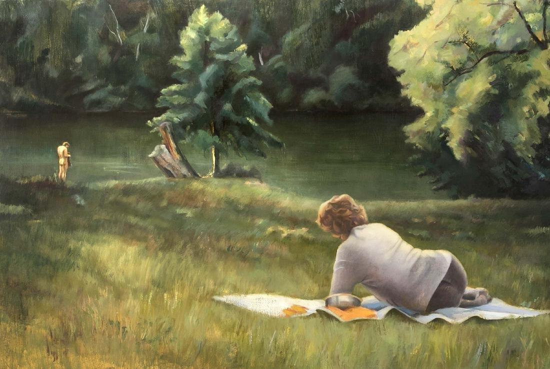 Maureen Jeram (b. 1971), in Albany N.Y. born,