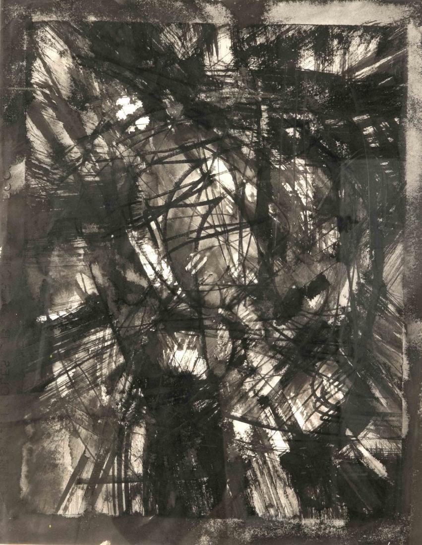 Fred Thieler (1916-1999), informelle Komposition,