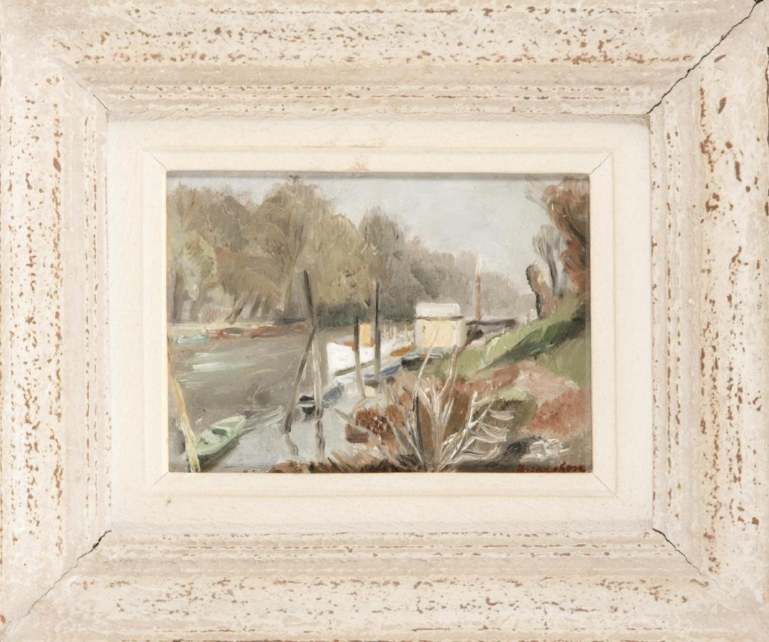 Maurice Brianchon (1899-1979), landscape painter in
