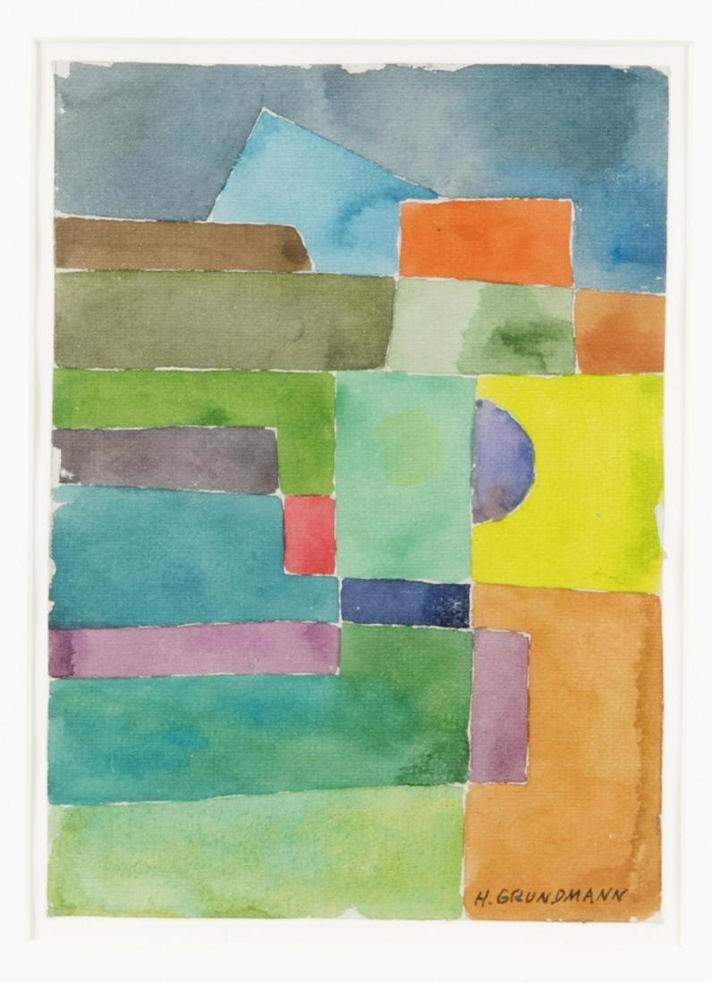 Hedwig Grundmann (1894- 1987), Abstrakte Komposition in