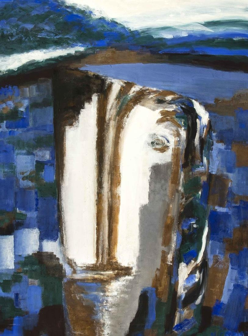 Bettina Niedt (* 1957), Berlin painter from the circle