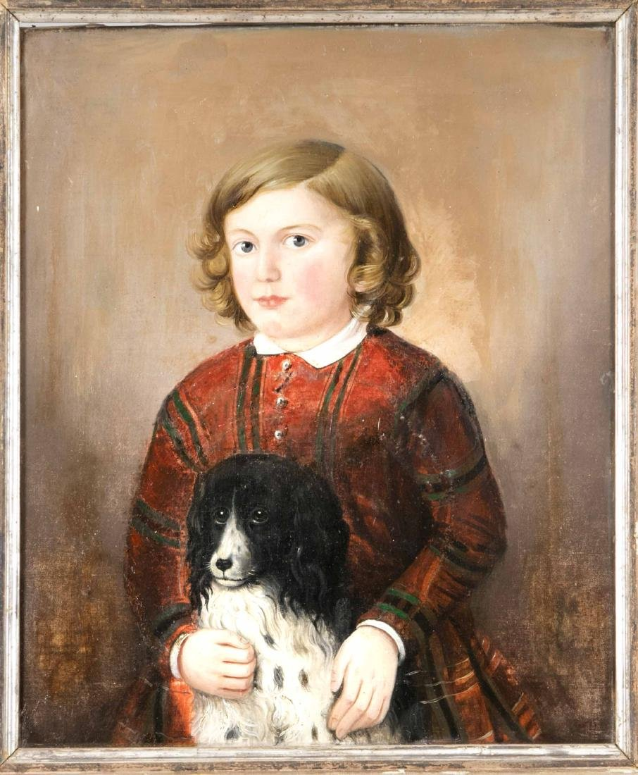 Anonymer Bildnismaler des frühen 19. Jh., Portrait