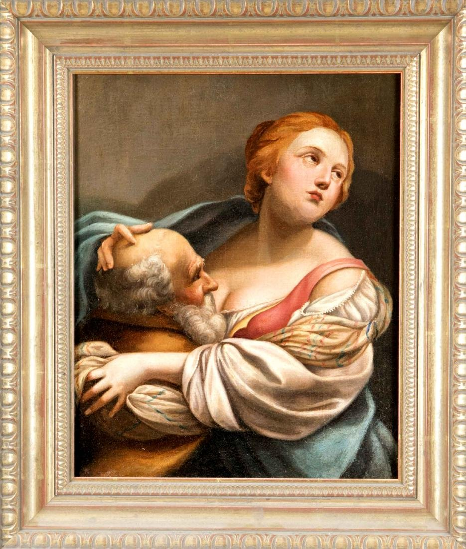 Flemish painter of the 18th century, Cimon and Pero,