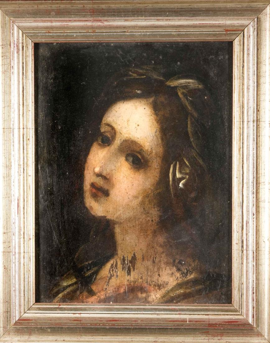 Anonymous painter late 19th century, portrait of a