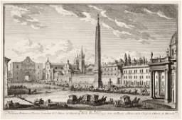 Giuseppe Vasi (1710-1782), Italian vedute eraser and