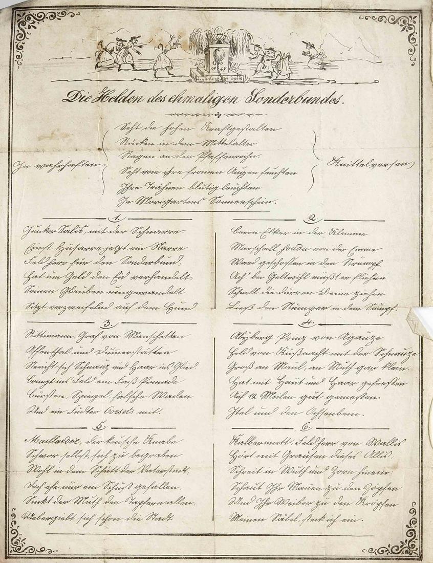 Konvolut von ca. 24 Dokumenten und Autographen des 18. - 6