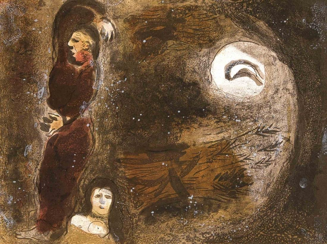 Marc Chagall (1887-1985), compilation of three color - 2