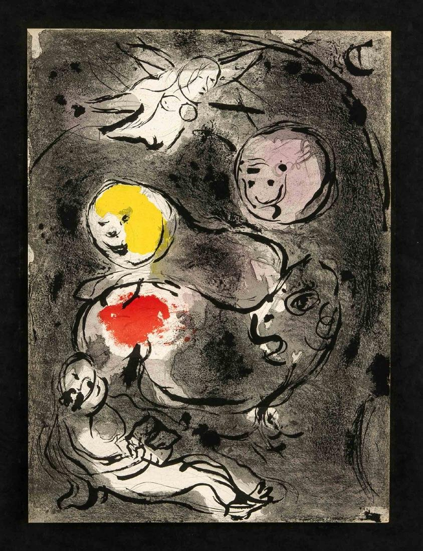 Marc Chagall (1887-1985), compilation of three color - 3