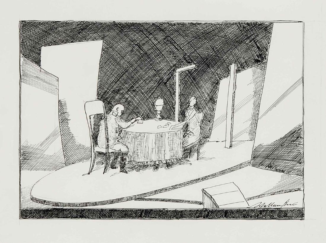 Walter Wellenstein (1898-1970), dt. Maler u. Grafiker, - 3
