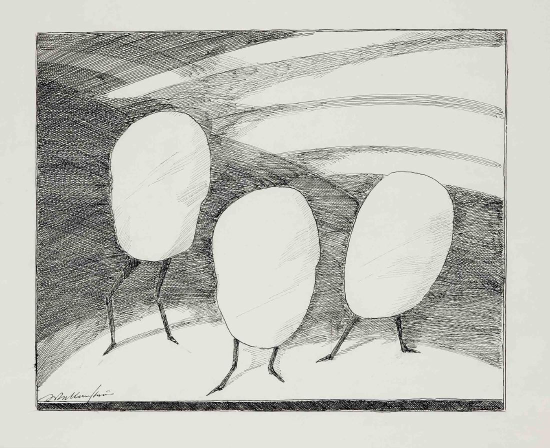 Walter Wellenstein (1898-1970), dt. Maler u. Grafiker, - 4