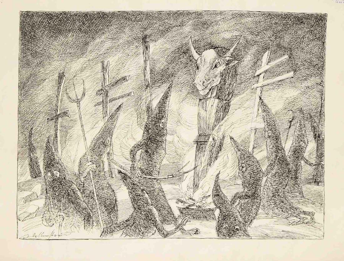 Walter Wellenstein (1898-1970), dt. Maler u. Grafiker, - 2