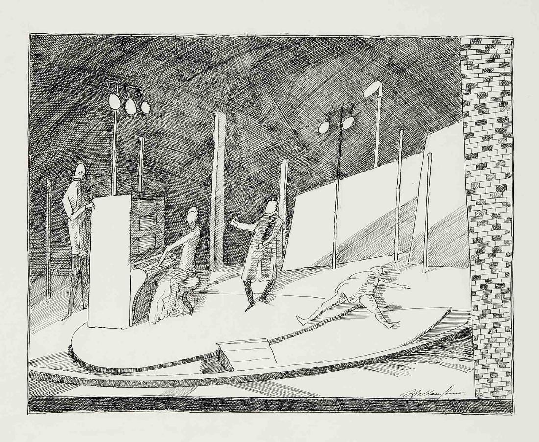 Walter Wellenstein (1898-1970), dt. Maler u. Grafiker, - 5