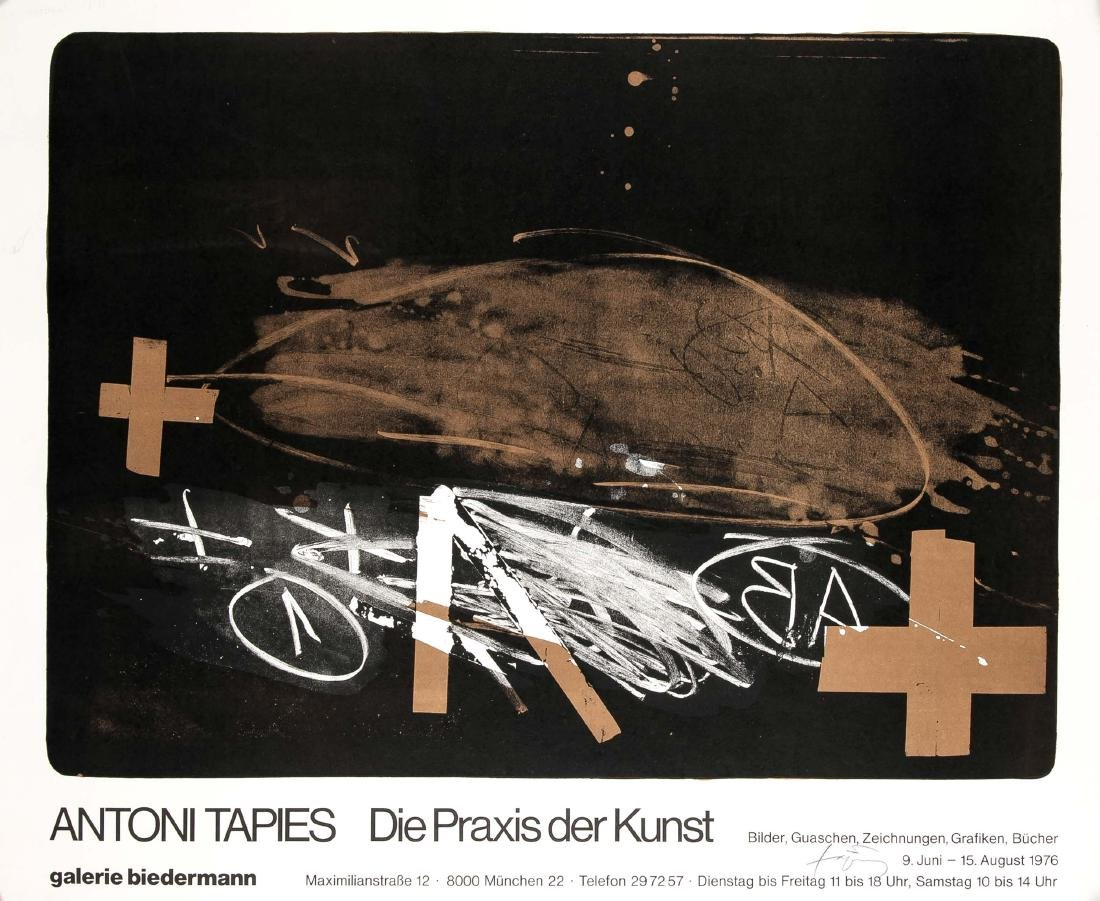 Antoni Tàpies (1923-2012), ''A effacé - The Practice of