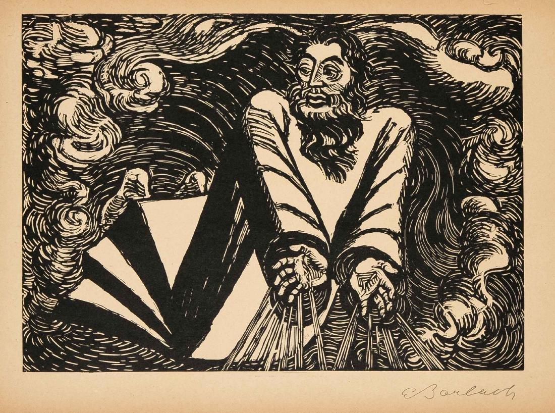 Ernst Barlach (1870-1938), Die Wandlungen Gottes,