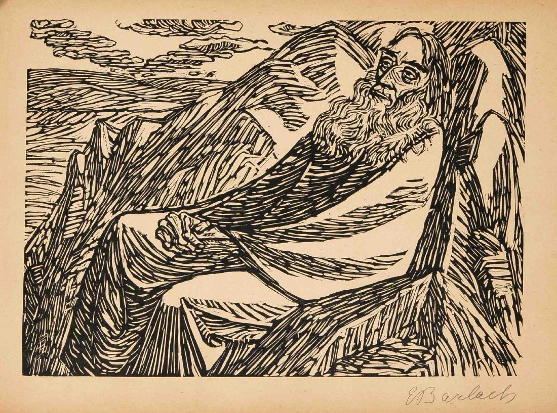 Ernst Barlach (1870-1938), Die Wandlungen Gottes, - 2