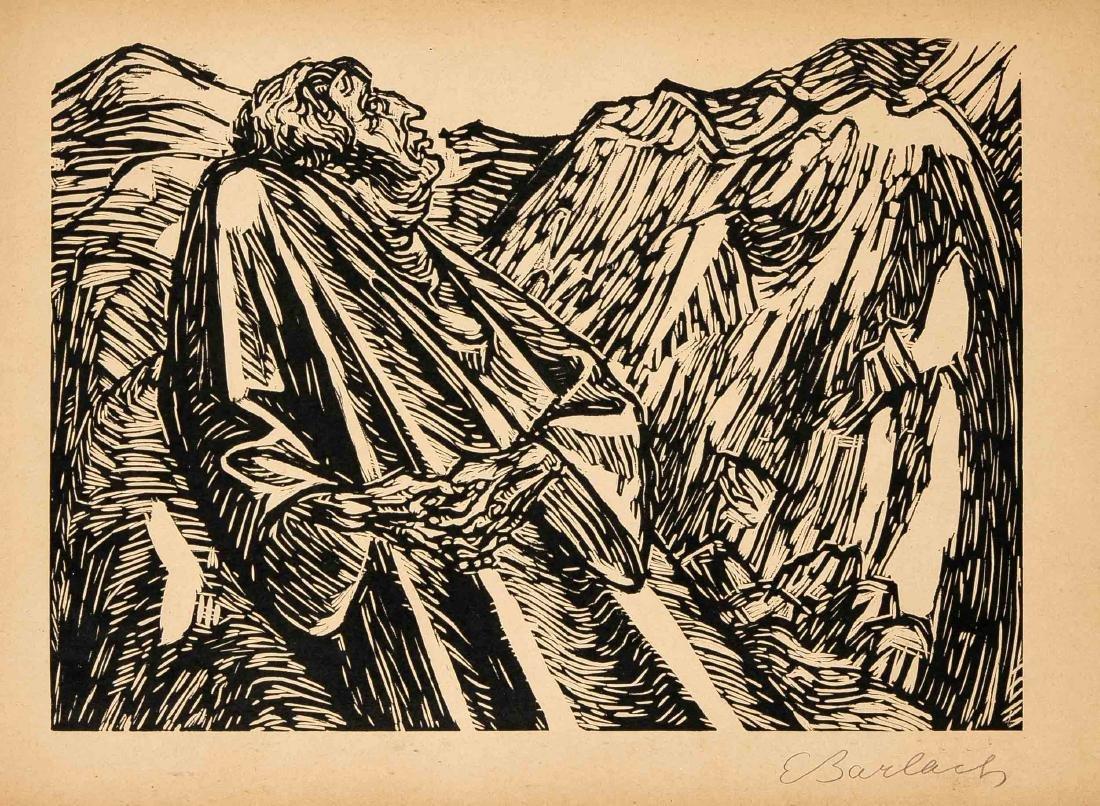 Ernst Barlach (1870-1938), Die Wandlungen Gottes, - 3