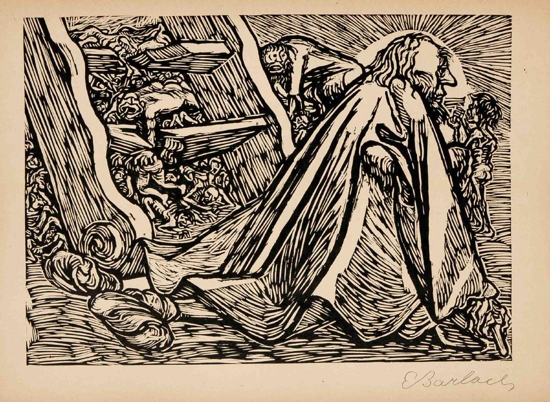 Ernst Barlach (1870-1938), Die Wandlungen Gottes, - 6
