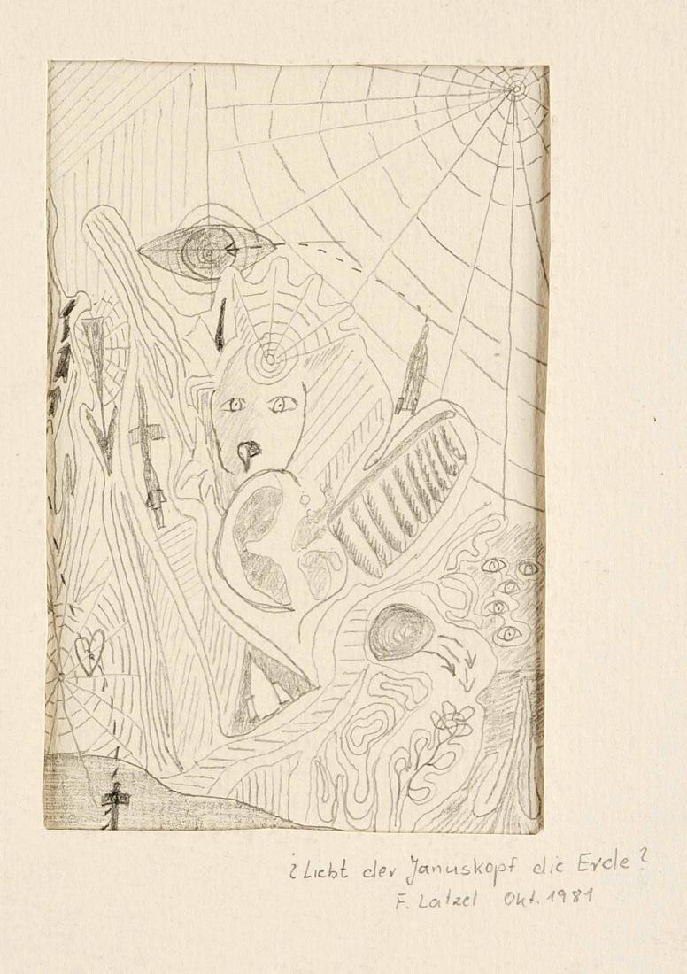 F. Latzel, Künstler um 1980, Konvolut von 3 - 3