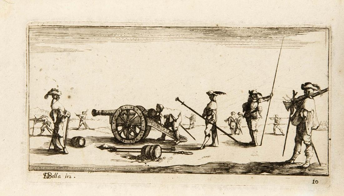 Convolute engravings of the 17./18. 4th-century,