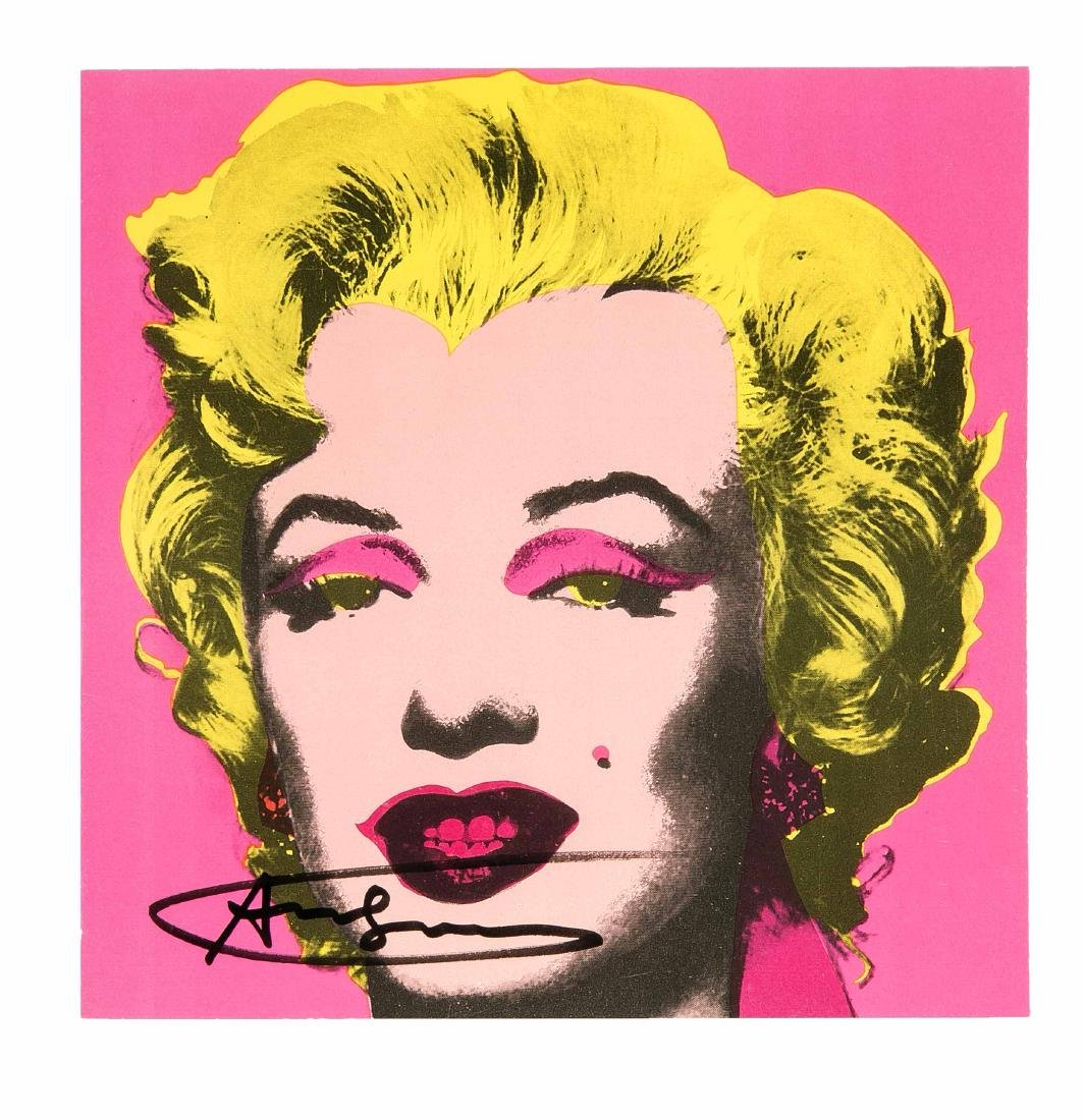 Andy Warhol (1928-1987), ''Marilyn'', hand-signed color