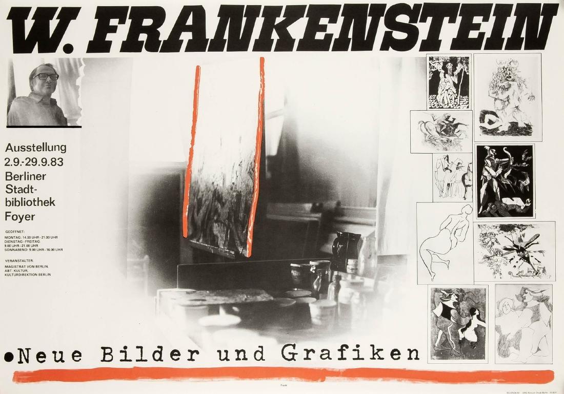 Konvolut von 10 Plakaten, DDR, Kunstausstellungen, - 3