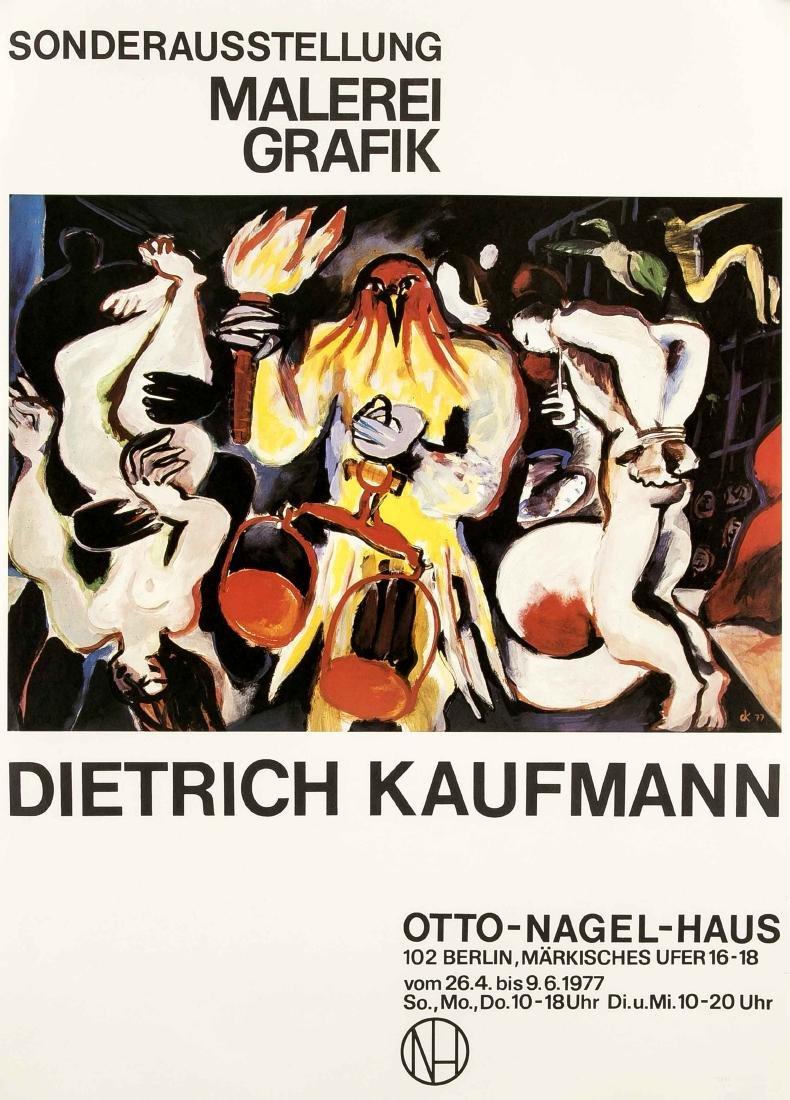 Konvolut von 10 Plakaten, DDR, Kunstausstellungen, - 5