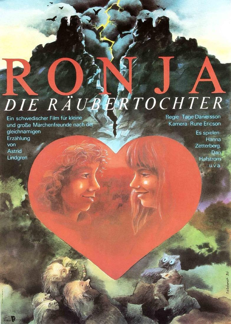 Konvolut von 10 Plakaten, DDR, Werbeplakate für Film