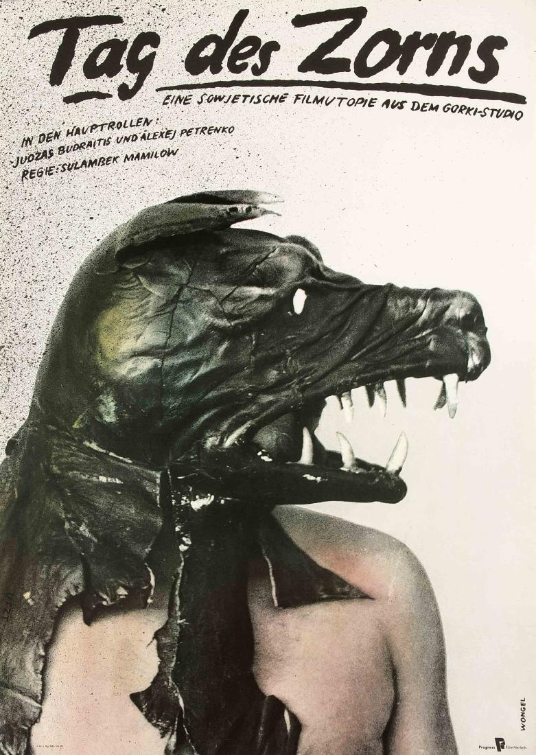 Konvolut von 10 Plakaten, DDR, Werbeplakate für Film - 2