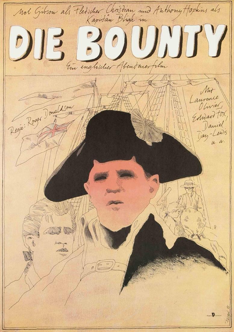 Konvolut von 10 Plakaten, DDR, Werbeplakate für Film - 3