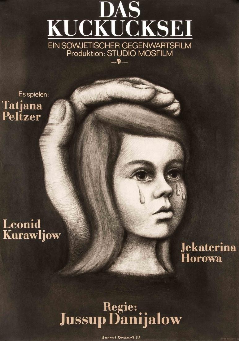 Konvolut von 10 Plakaten, DDR, Werbeplakate für Film - 4