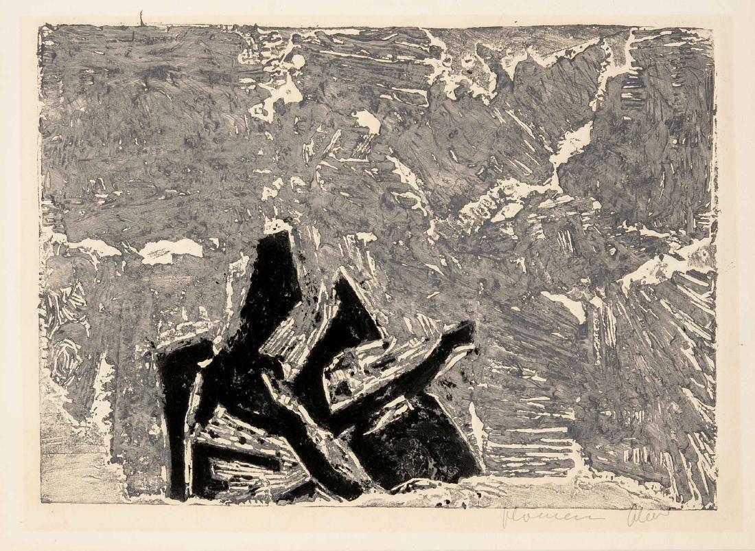 Konvolut von 7 Grafiken, 2. H. 20. Jh., Georgios