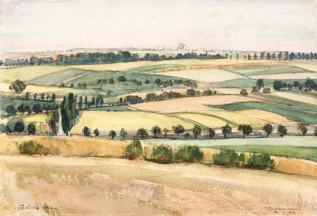 Hermann Kohlmann (1907-1982), deutscher Maler, - 5